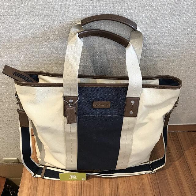 高井田のお客様からコーチのトートバッグを買取_03