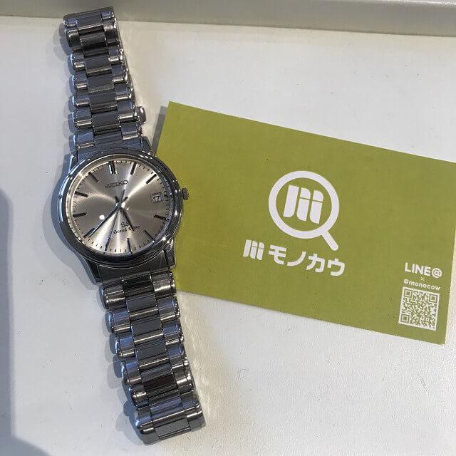 大阪市鶴見区のお客様からグランドセイコーの腕時計を買取_01