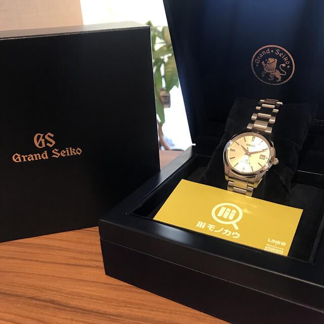 柏のお客様から宅配買取にてグランドセイコーの腕時計を買取_04