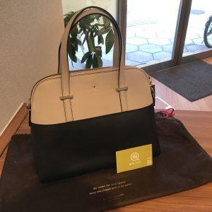 伊丹のお客様からケイトスペードの2wayバッグを買取