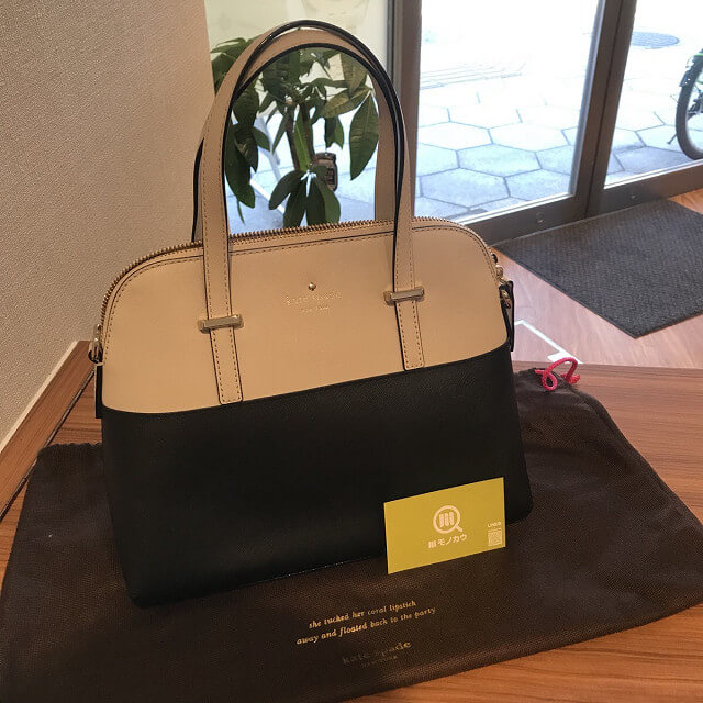 モノカウ玉造店にて伊丹のお客様からケイトスペードの2wayバッグを買取_01