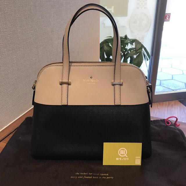 モノカウ玉造店にて伊丹のお客様からケイトスペードの2wayバッグを買取_02