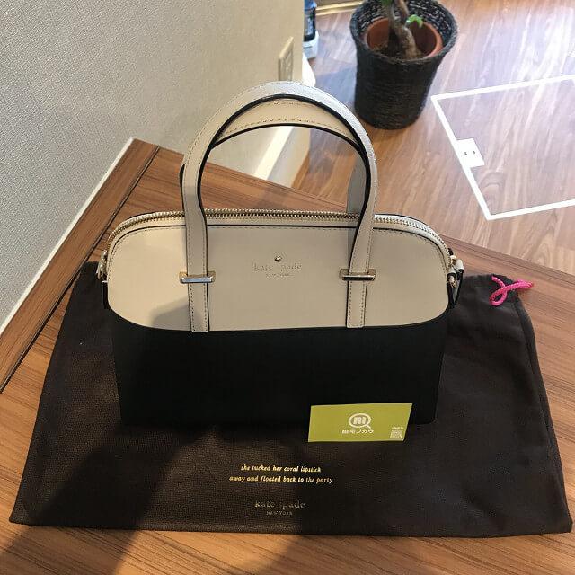 モノカウ玉造店にて伊丹のお客様からケイトスペードの2wayバッグを買取_03