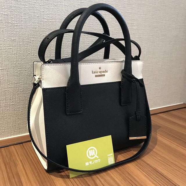 高槻のお客様からケイトスペードの2wayバッグを買取_01