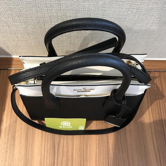 高槻のお客様からケイトスペードの2wayバッグを買取_04