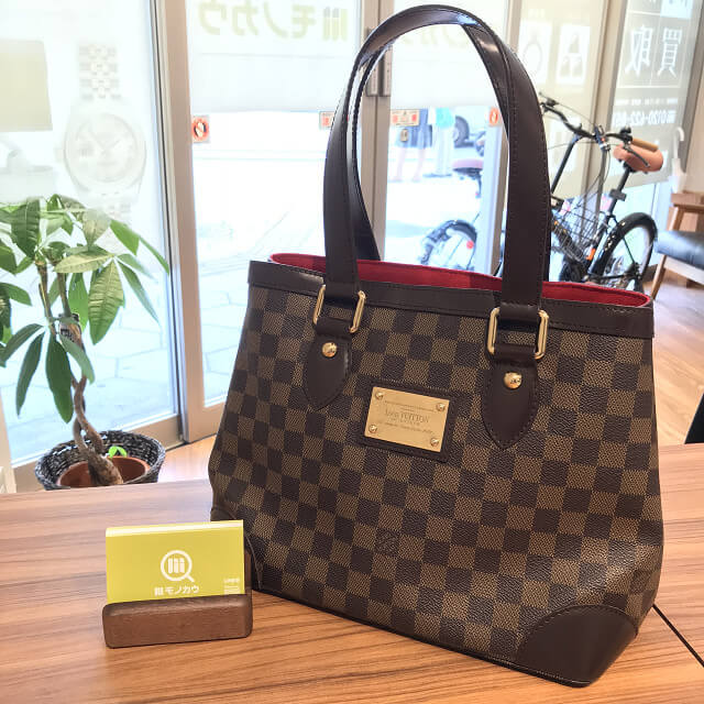 枚方のお客様からヴィトンのハンドバッグ【ハムステッドPM】を買取_01