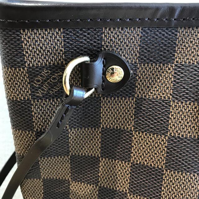 大阪市平野区のお客様からヴィトンのダミエのバッグ【ネヴァーフルPM】を買取_03