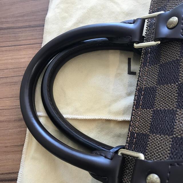 日暮里のお客様から宅配買取にてヴィトンのダミエのバッグ【スピーディ25】を買取_04