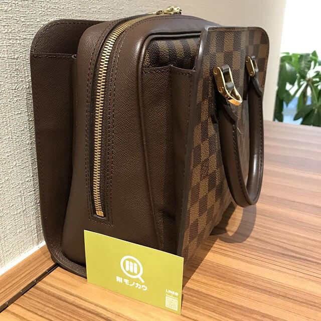 鶴橋のお客様からヴィトンのダミエのバッグ【トリアナ】を買取_03