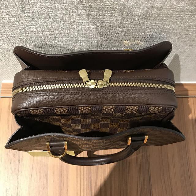 鶴橋のお客様からヴィトンのダミエのバッグ【トリアナ】を買取_04