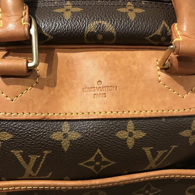 鶴橋のお客様からヴィトンのハンドバッグ【ドーヴィル】を買取_03