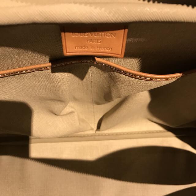 鶴橋のお客様からヴィトンのハンドバッグ【ドーヴィル】を買取_04