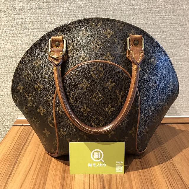 松山のお客様からヴィトンのハンドバッグ【エリプス】を買取_01