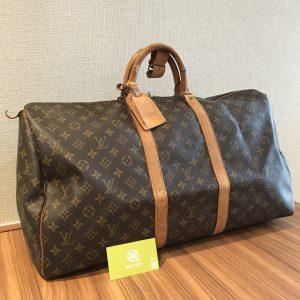 横浜元町中華街のお客様からヴィトンのボストンバッグ【キーポル55】を買取