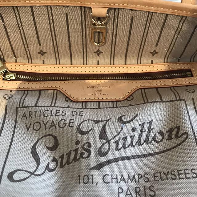 淡路のお客様からヴィトンのバッグ【ネヴァーフルPM】を買取_04