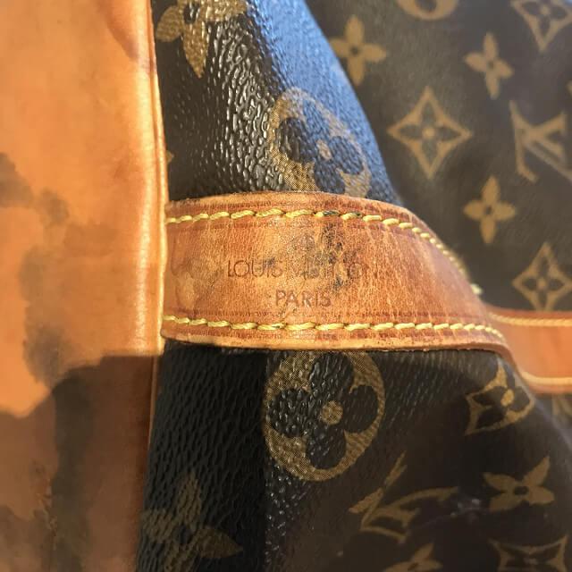 一宮市のお客様から宅配買取にてヴィトンの巾着バッグ【プチノエ】を買取_03