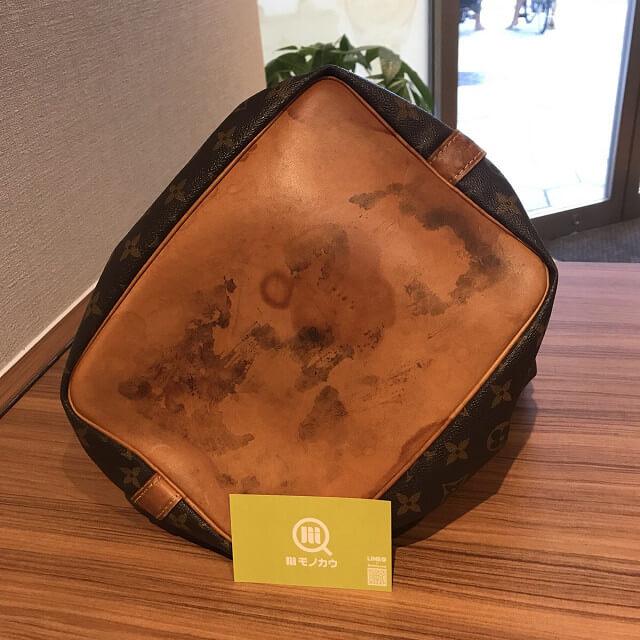 一宮市のお客様から宅配買取にてヴィトンの巾着バッグ【プチノエ】を買取_04