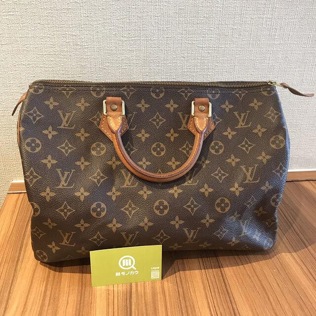 札幌のお客様からヴィトンのハンドバッグ【スピーディ35】を買取_02