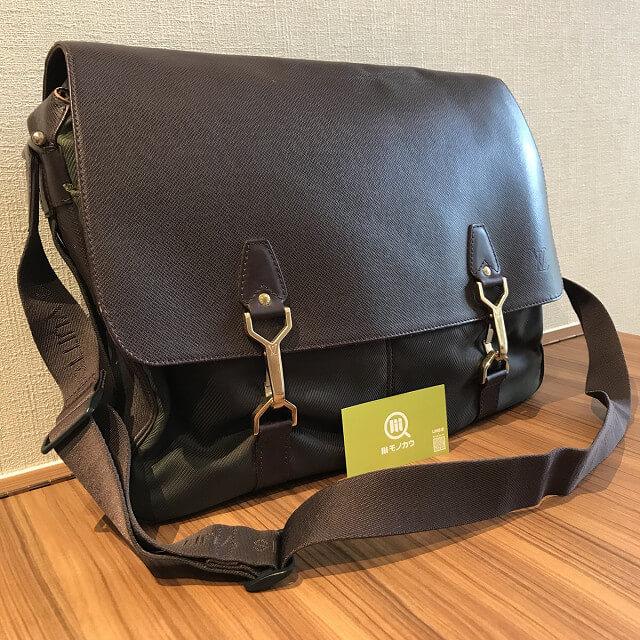 横浜元町中華街のお客様からヴィトンのタイガラインのバッグ【デルスー】を買取_02