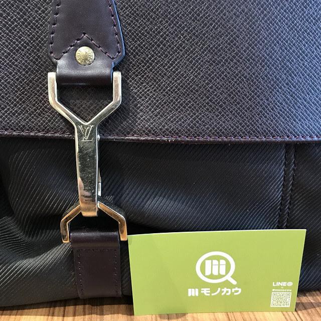横浜元町中華街のお客様からヴィトンのタイガラインのバッグ【デルスー】を買取_03