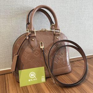 淡路のお客様からヴィトンのヴェルニのバッグ【アルマBB】を買取