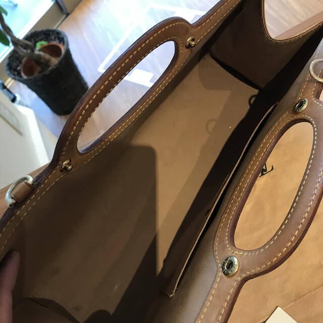 与那原町のお客様からヴィトンのヴェルニのバッグ【ロクスバリードライブ】を買取_02
