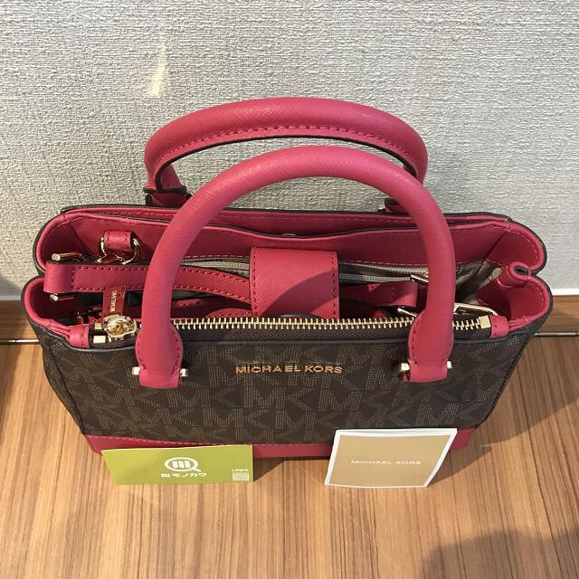 高槻のお客様からマイケルコースの2wayバッグを買取 _04