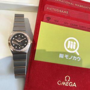 大阪市鶴見区のお客様からオメガのコンステレーションブラッシュを買取