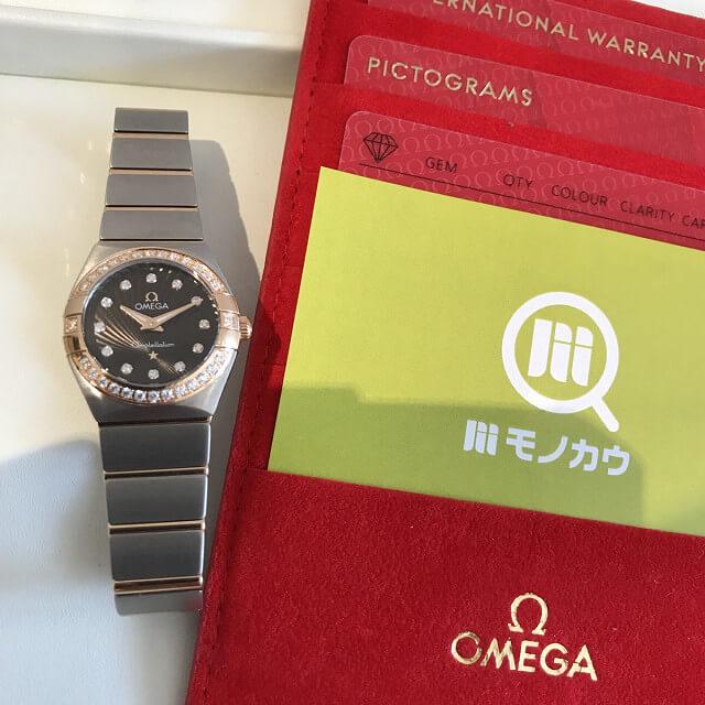 大阪市鶴見区のお客様からオメガの腕時計【コンステレーション ブラッシュ】を買取_01