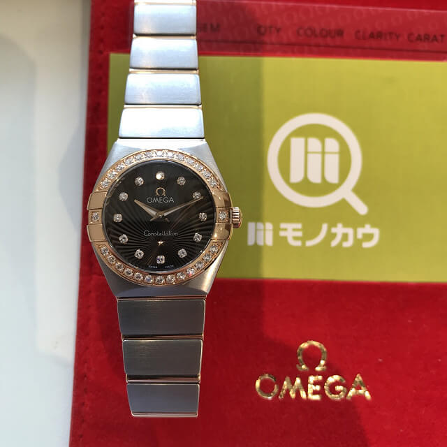 大阪市鶴見区のお客様からオメガの腕時計【コンステレーション ブラッシュ】を買取_02