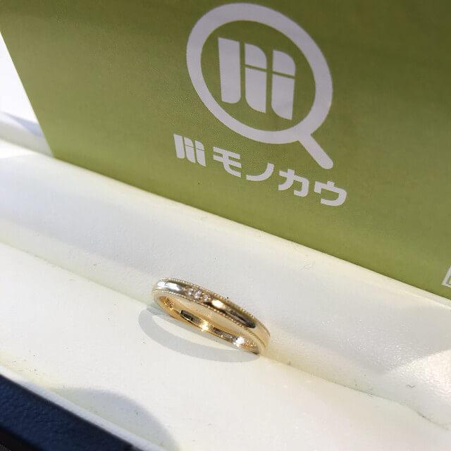 モノカウ玉造店にてお客様から18金製【オレッキオ】の指輪を買取_01