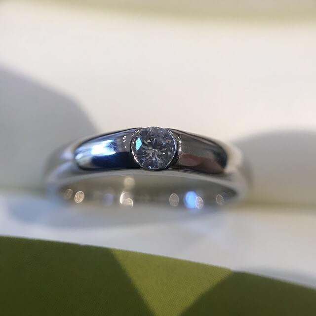 今里のお客様からプラチナのダイヤの指輪を買取_03