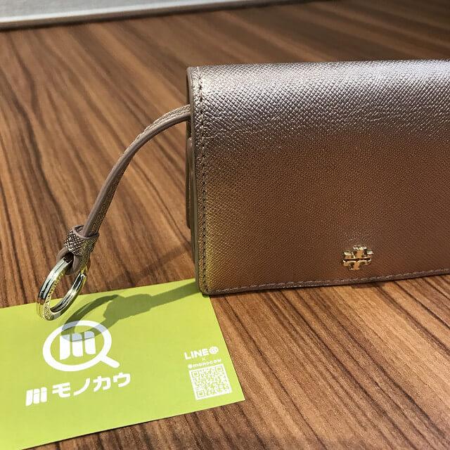鶴橋のお客様からトリーバーチの財布を買取_04