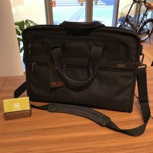 横浜元町中華街のお客様からTUMI(トゥミ)の2wayバッグを買取