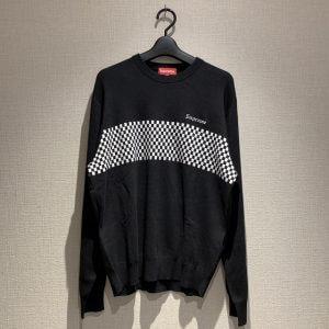 練馬区平和台からシュプリームのクルーネックセーターを買取