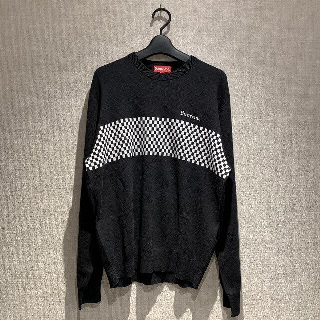 練馬区平和台からシュプリームのクルーネックセーターを買取_01