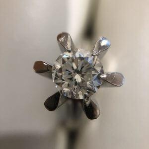 阿倍野のお客様から1.012ctのダイヤモンドの指輪を買取