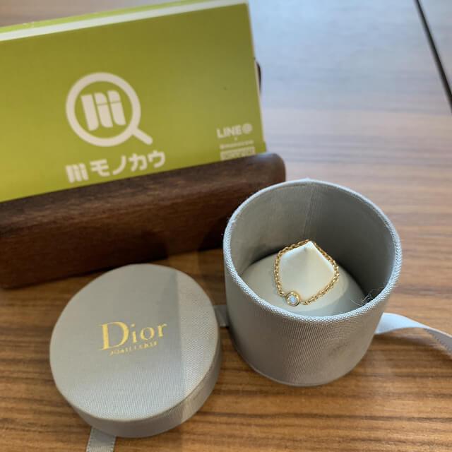 天六のお客様からディオールの指輪を買取_01