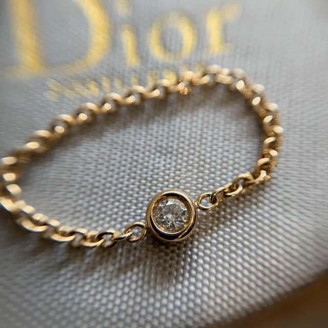 天六のお客様からディオールの指輪を買取_03