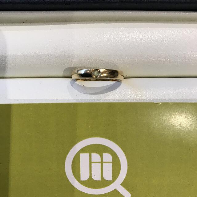 生野区舎利寺のお客様から18金の指輪を買取_01