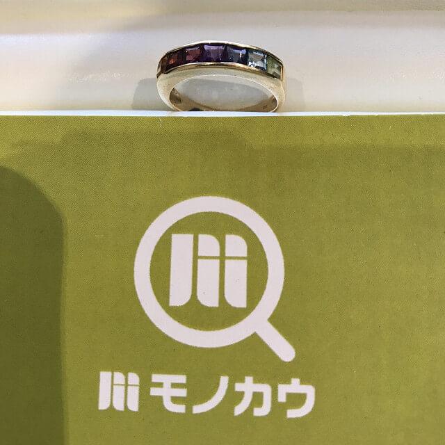 喜連瓜破のお客様から18金の指輪を買取_01