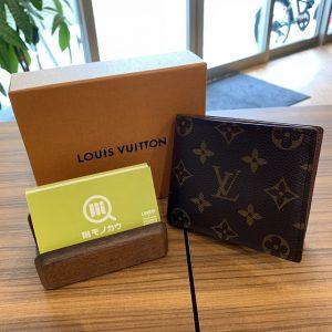 十三のお客様からヴィトンの二つ折り財布を買取