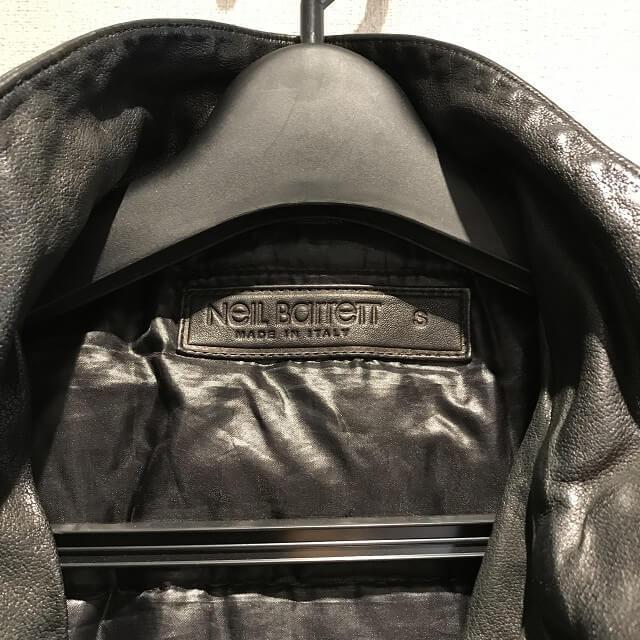 門真のお客様からニールバレットのレザーダウンジャケットを買取_03