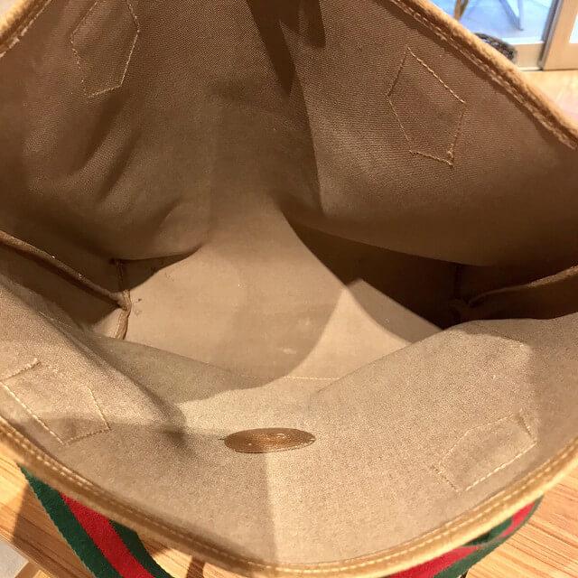 保土ケ谷からオールドグッチのGG柄トートバッグを買取_04