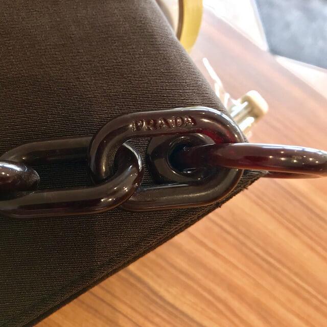 箕面のお客様からプラダのチェーンバッグを買取_04