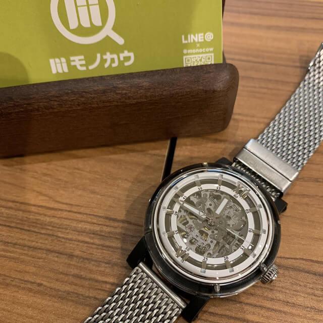 鎌倉からサイモンカーターの時計を買取_02