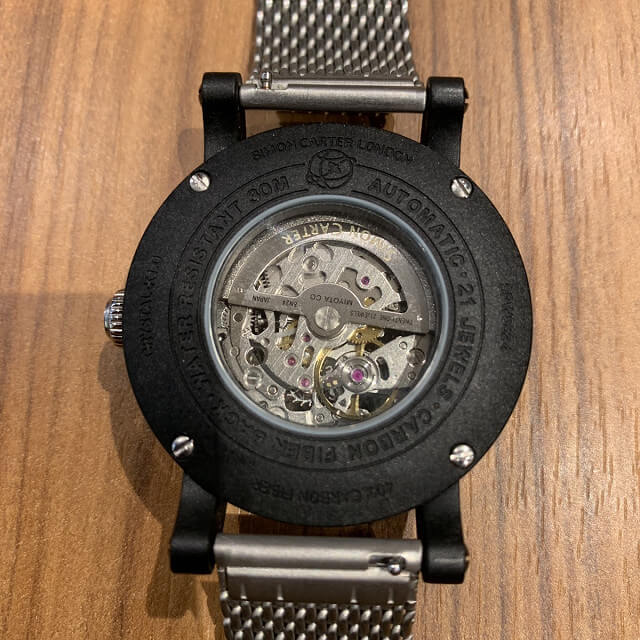 鎌倉からサイモンカーターの時計を買取_04