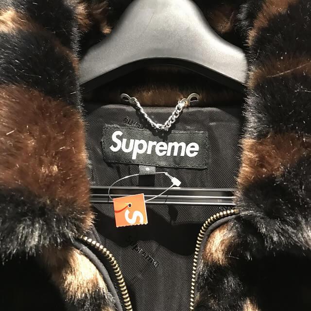 西宮のお客様からSupreme(シュプリーム)のファージャケットを買取_03