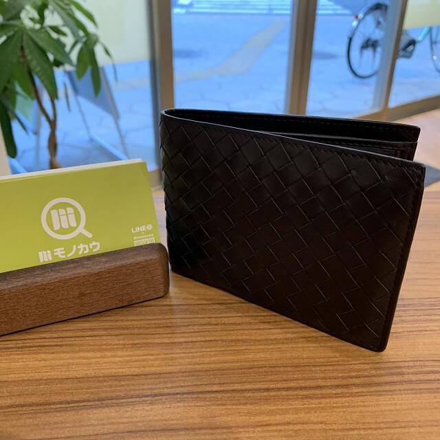 尼崎からボッテガの財布を買取_01