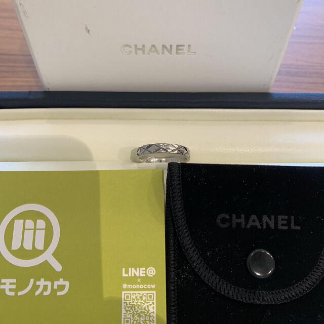 鶴橋のお客様からシャネルの指輪を買取_01